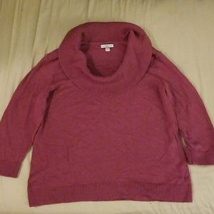 Croft&Barrow purple sweater. Size large.